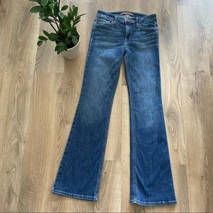 JOE'S Jeans Blue Mid-Rise Bootcut Jeans